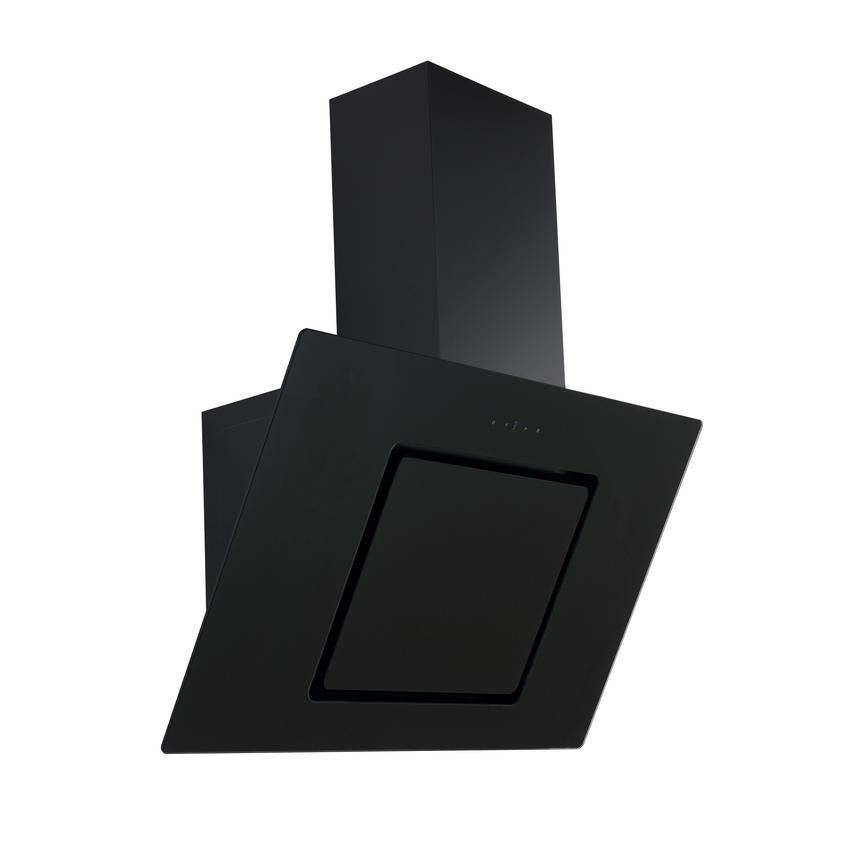 HJA2701 70cm Black Chimney Cooker Hood