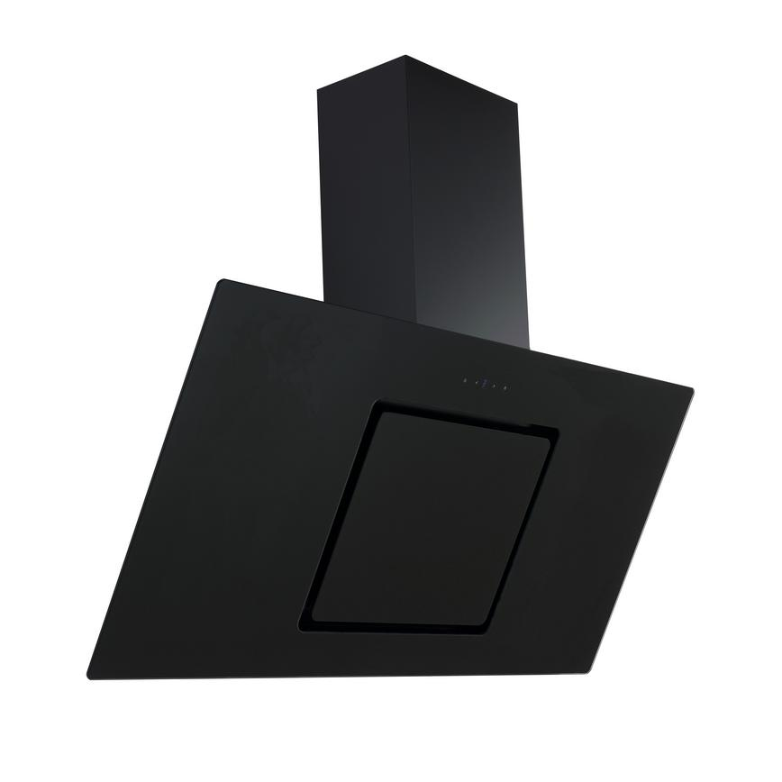 HJA2702 90cm Black Chimney Cooker Hood