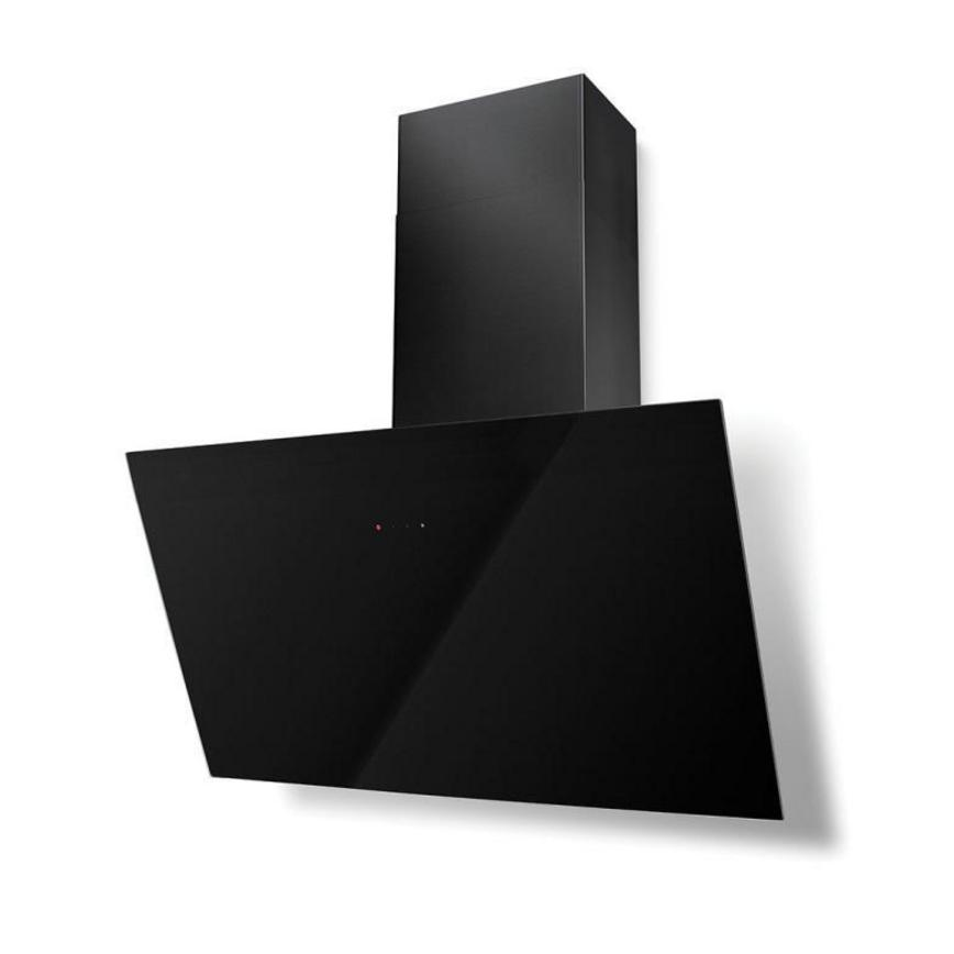 Lamona LAM2706 90cm Black Chimney Cooker Hood