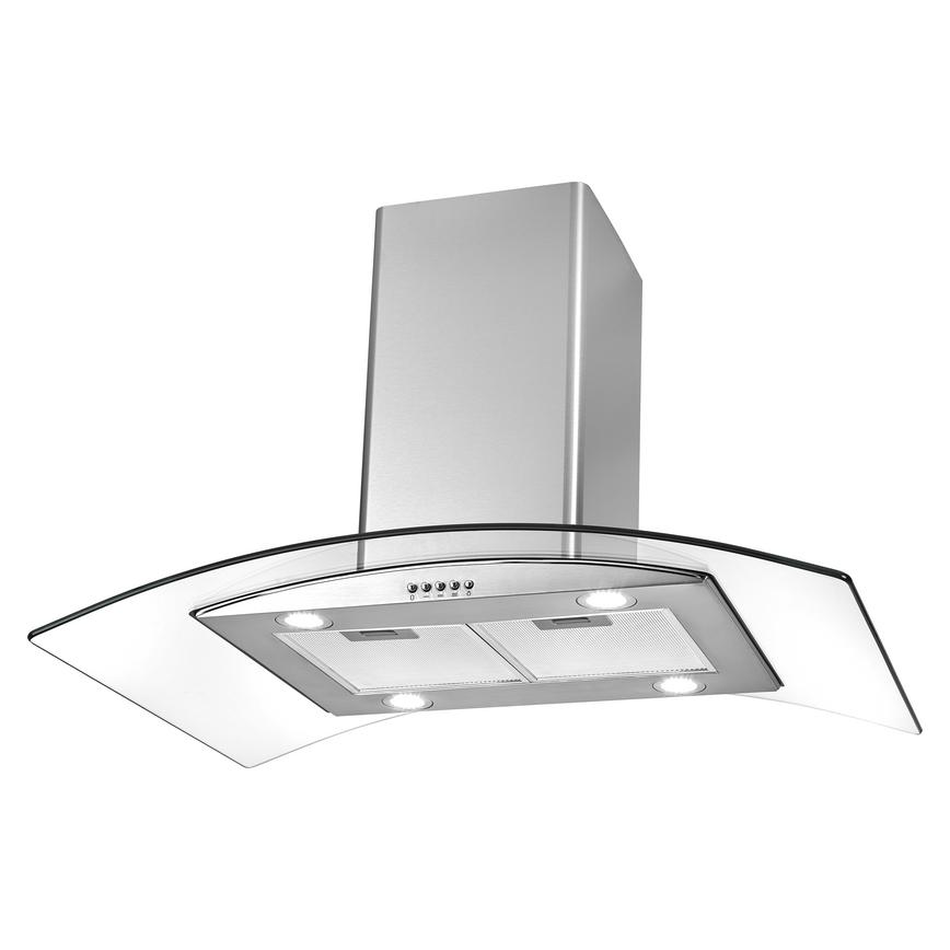 Lamona LAM2850 90cm Stainless Steel Chimney Cooker Hood