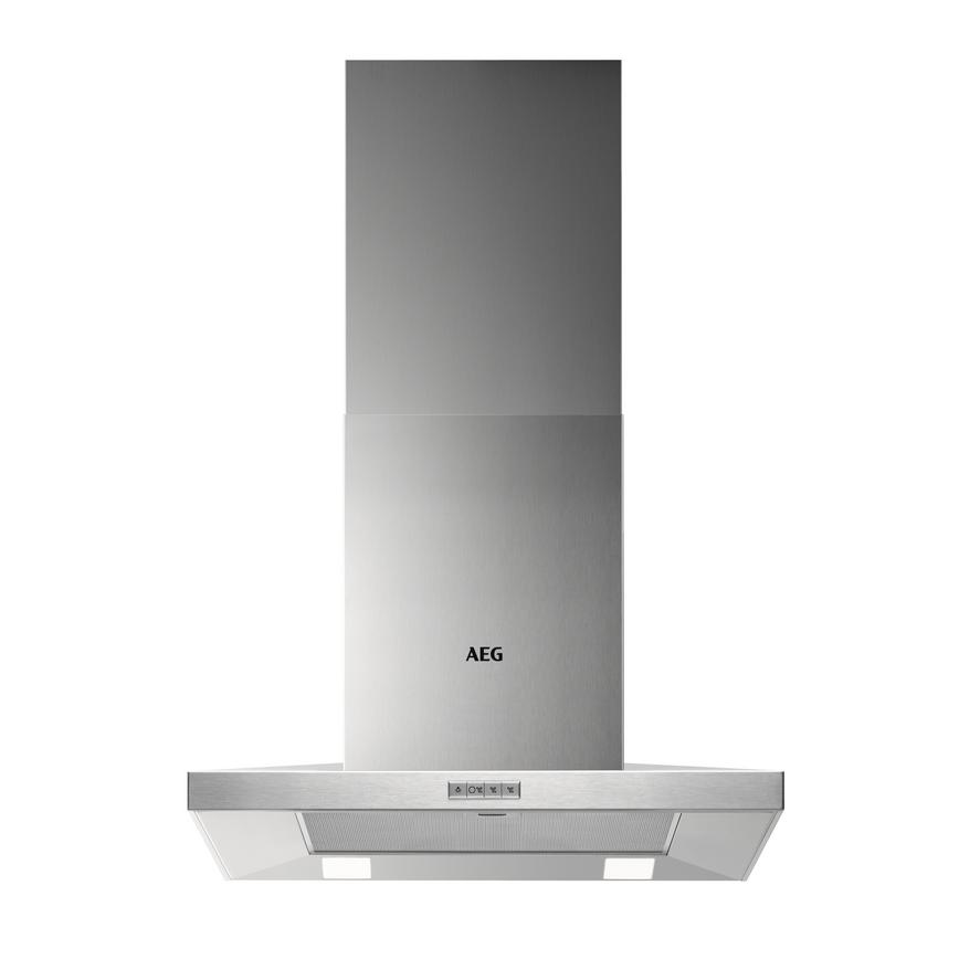 AEG DKB4650HM 60cm Stainless Steel Chimney Cooker Hood