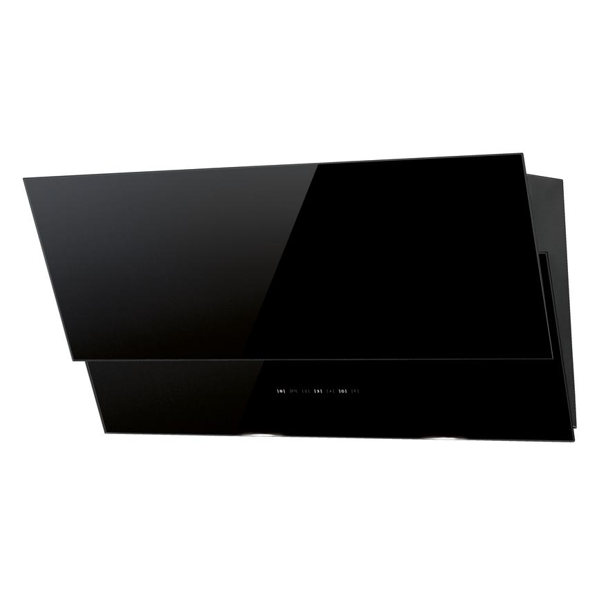 Lamona LAM2776 80cm Black Chimney Cooker Hood
