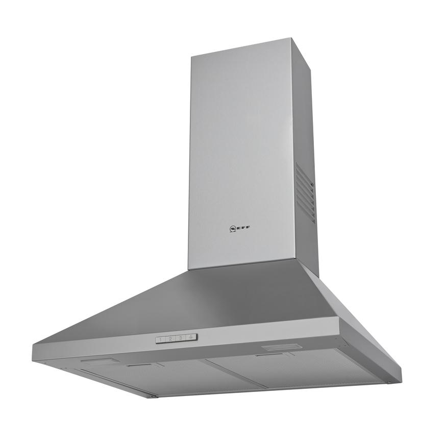 Neff D62PBC0N0B 60cm Stainless Steel Chimney Cooker Hood