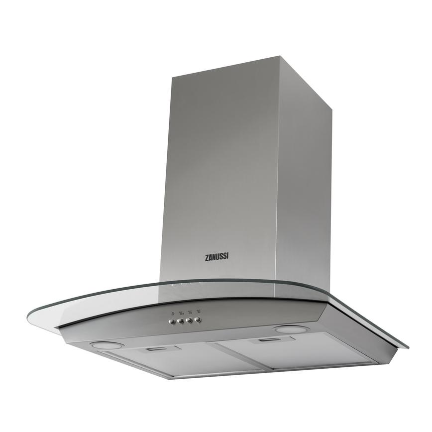 Zanussi ZHC6235X 60cm Stainless Steel Chimney Cooker Hood