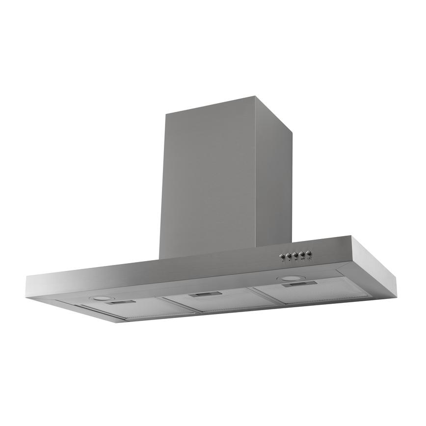 Lamona LAM2802 90cm Stainless Steel Chimney Cooker Hood