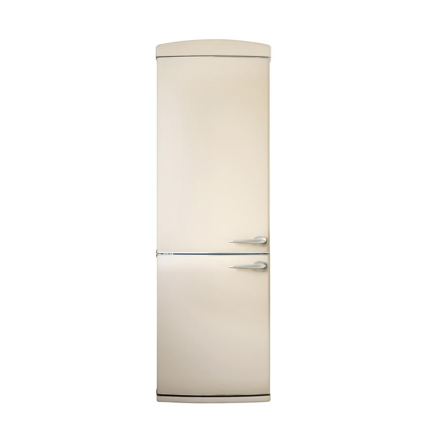 Allendale Cream LH Retro Fridge Freezer Door Closed
