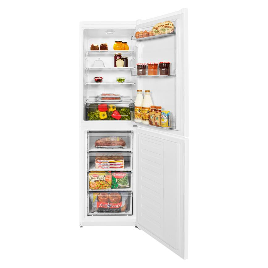 Beko CSG1582 Freestanding 50/50 White Fridge Freezer