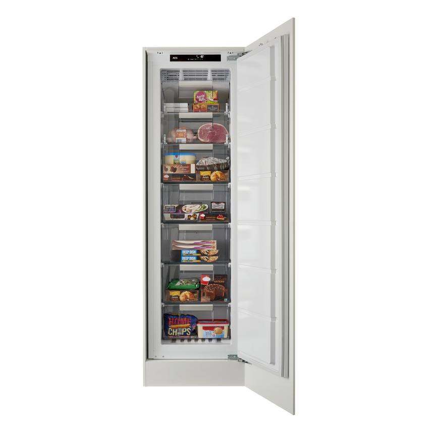 AEG ABK8182VNC Integrated Upright White Freezer