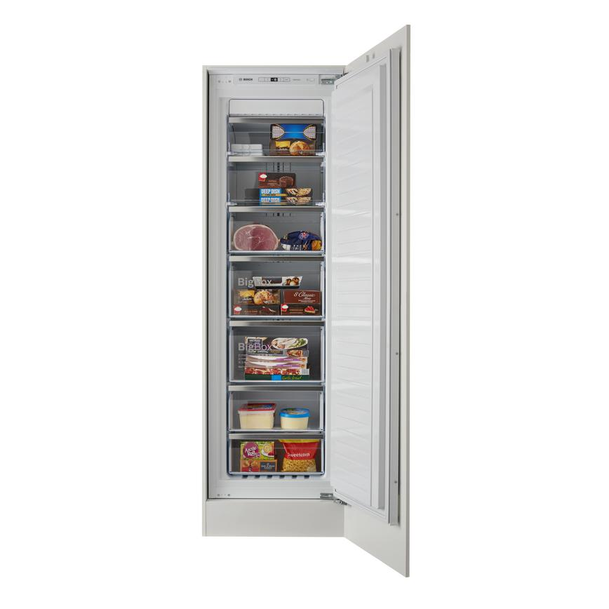 Bosch GIN81AE30G Serie 6 Integrated White Freezer