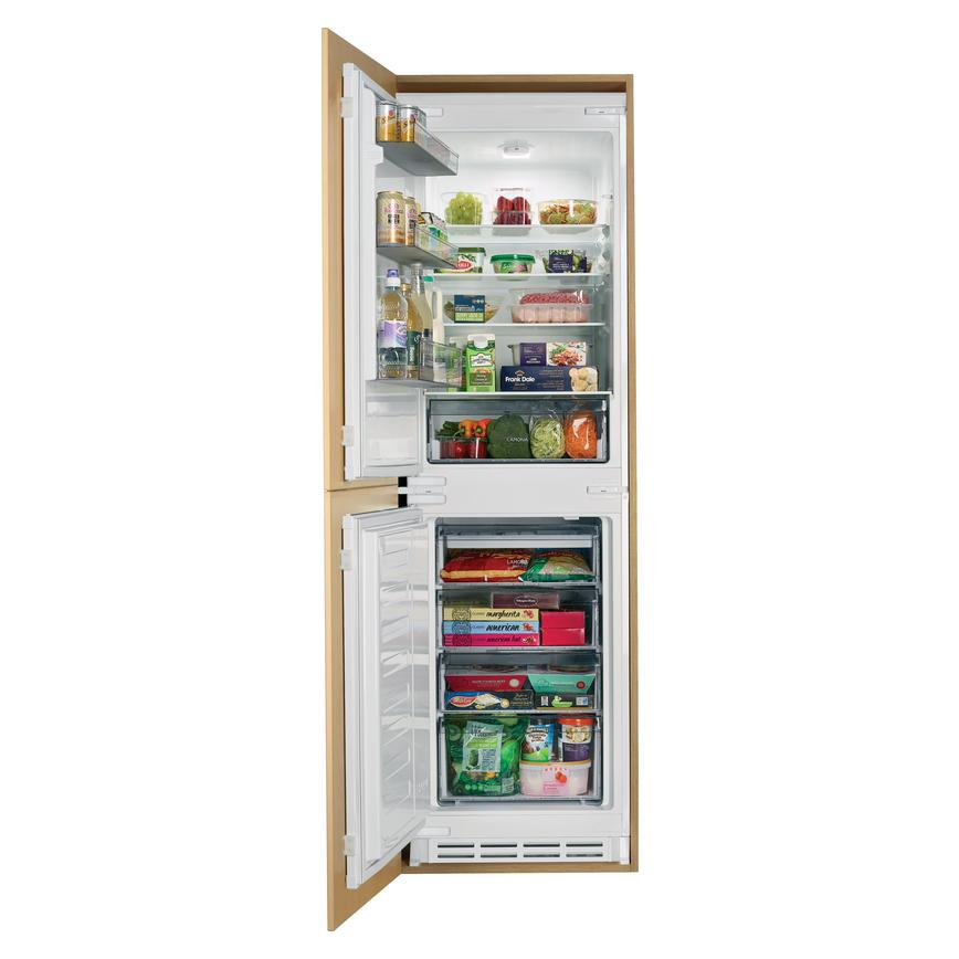 Lamona LAM6200 Integrated 50/50 White Fridge Freezer