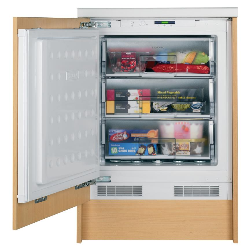 Lamona LAM6400 Built Under White Freezer