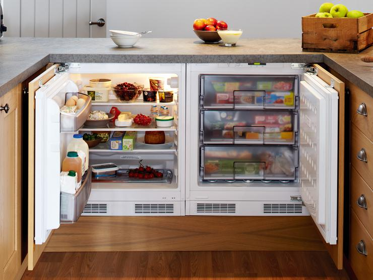 Lamona Built-Under Integrated Larder Fridge and Lamona Built-Under Integrated Freezer