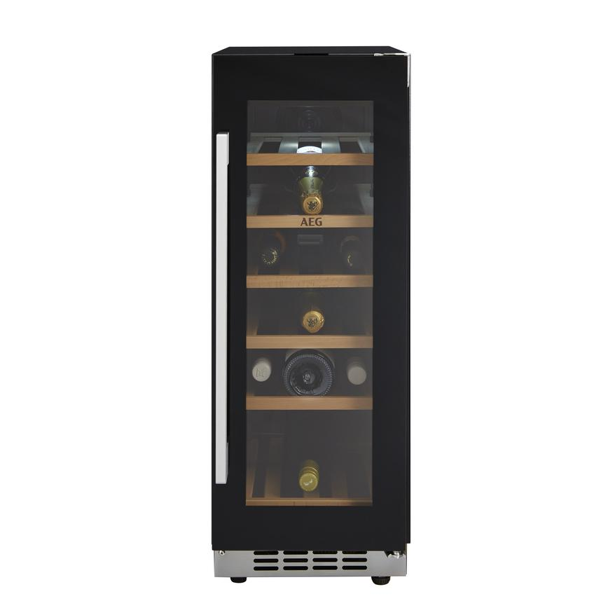 AEG SWE63001DG Freestanding Black 20 Bottle Wine Cooler