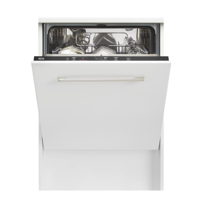 AEG FSB42607Z Integrated Full Size Stainless Steel Dishwasher