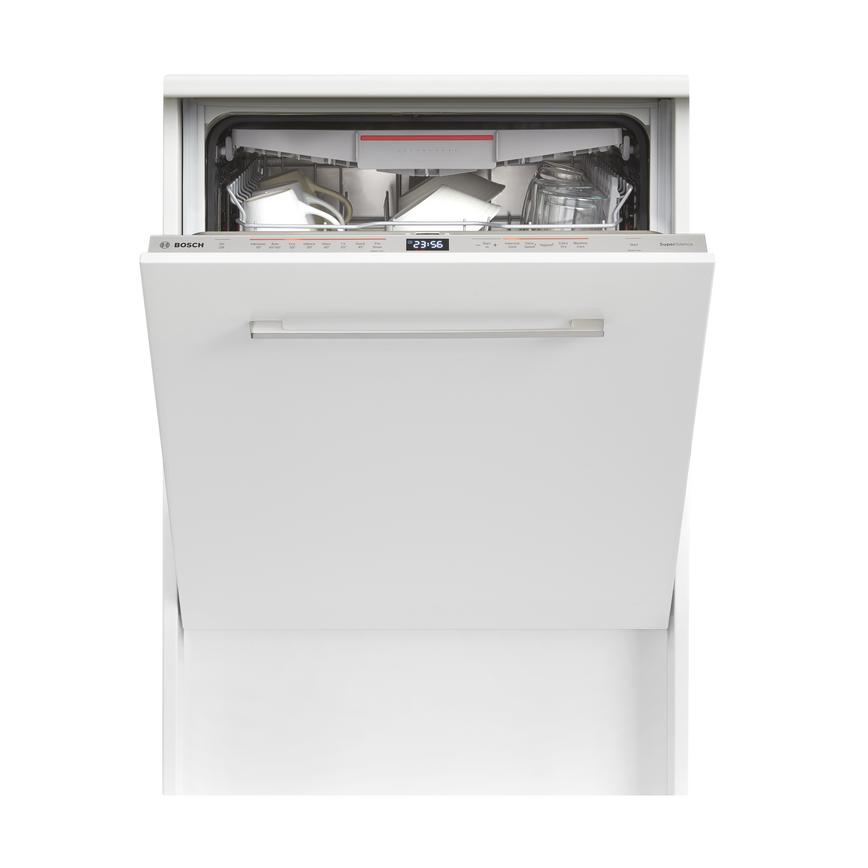Bosch SMV68MD02G 8 Program Integrated Full Size White Dishwasher