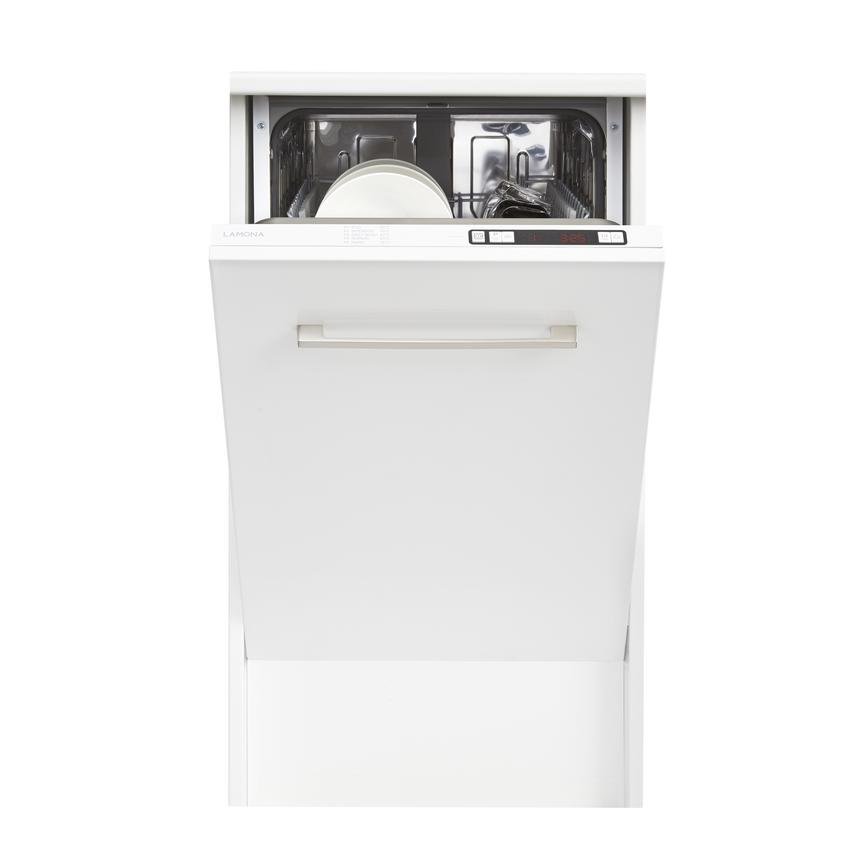 Lamona LAM8303 Integrated Slimline White Dishwasher