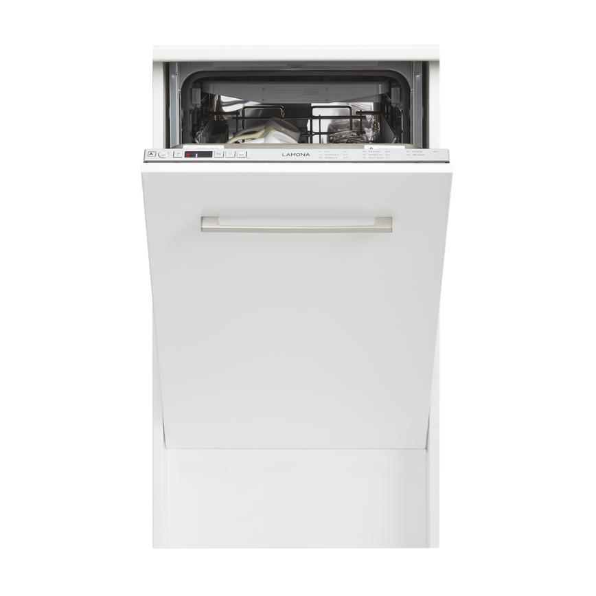 Lamona LAM8375 Integrated Slimline White Dishwasher