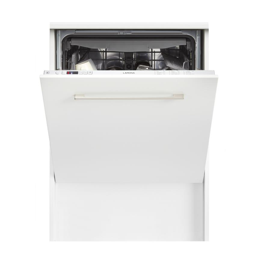 Lamona LAM8675 Integrated Full Size White Dishwasher