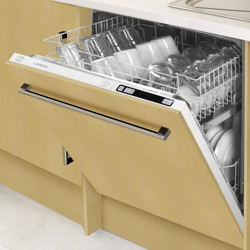 Lamona LAM8605 Integrated Full Size White Dishwasher