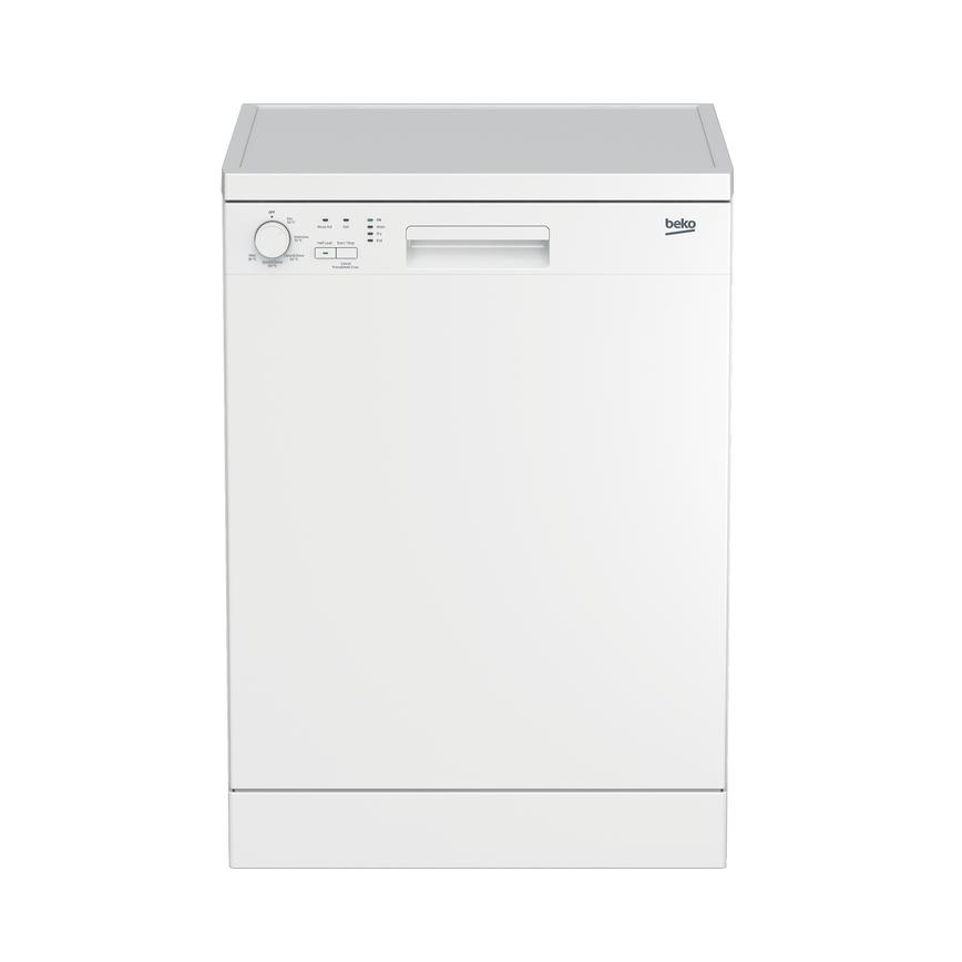 Beko DFN05310W Freestanding Full Size White Dishwasher