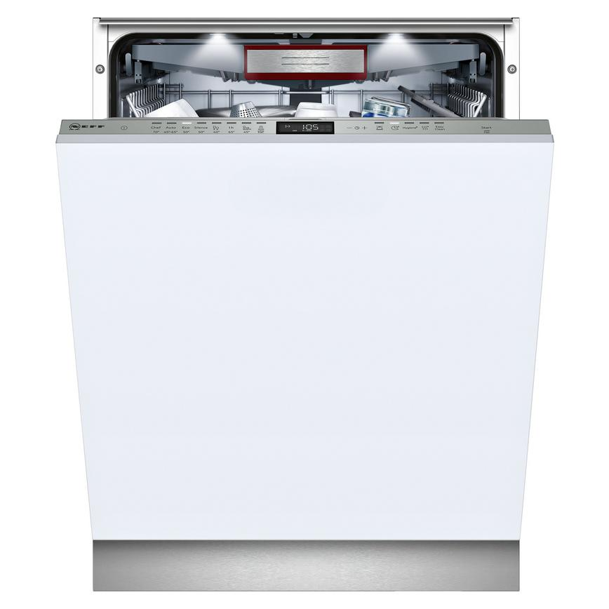 Neff S515T80D1G Integrated Full Size Grey Dishwasher