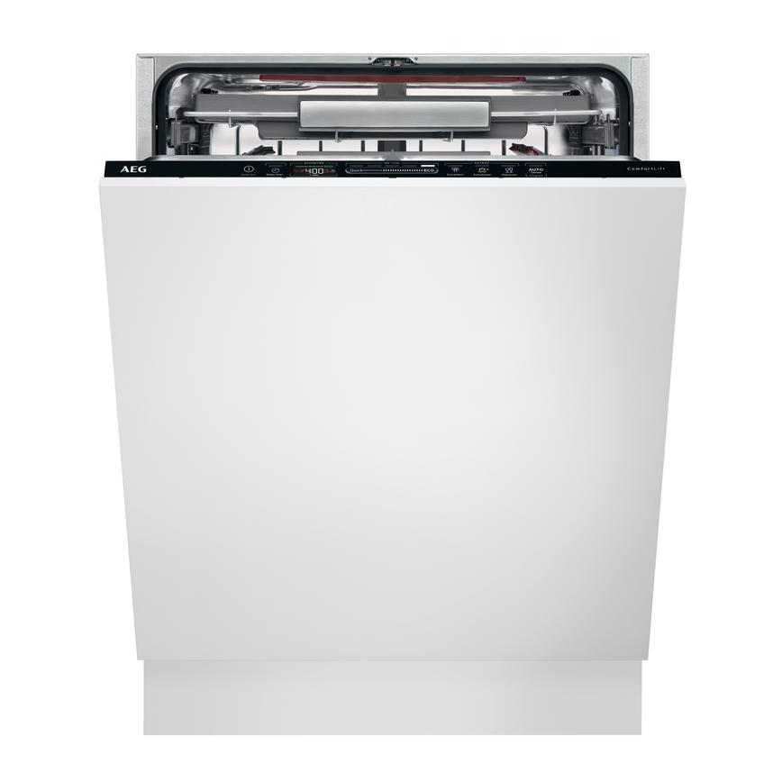 AEG FSK63807P Built In Black Dishwasher