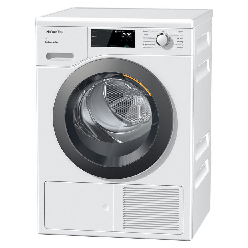 Miele 8kg Heat Pump Tumble dryer TCF640WP