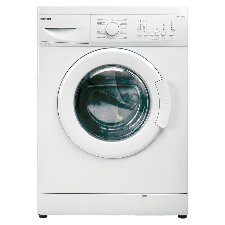 Beko WMB51021W Freestanding 5Kg 1000rpm White Washing Machine