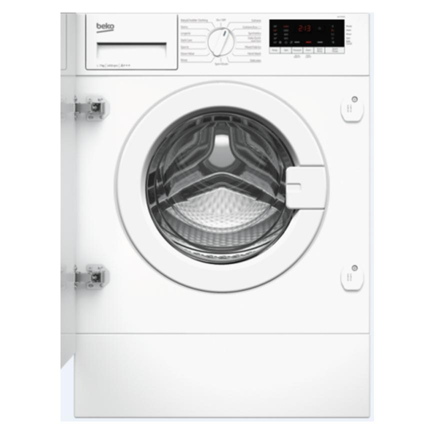 Beko WIX765450 Integrated 7Kg 1600rpm White Washing Machine