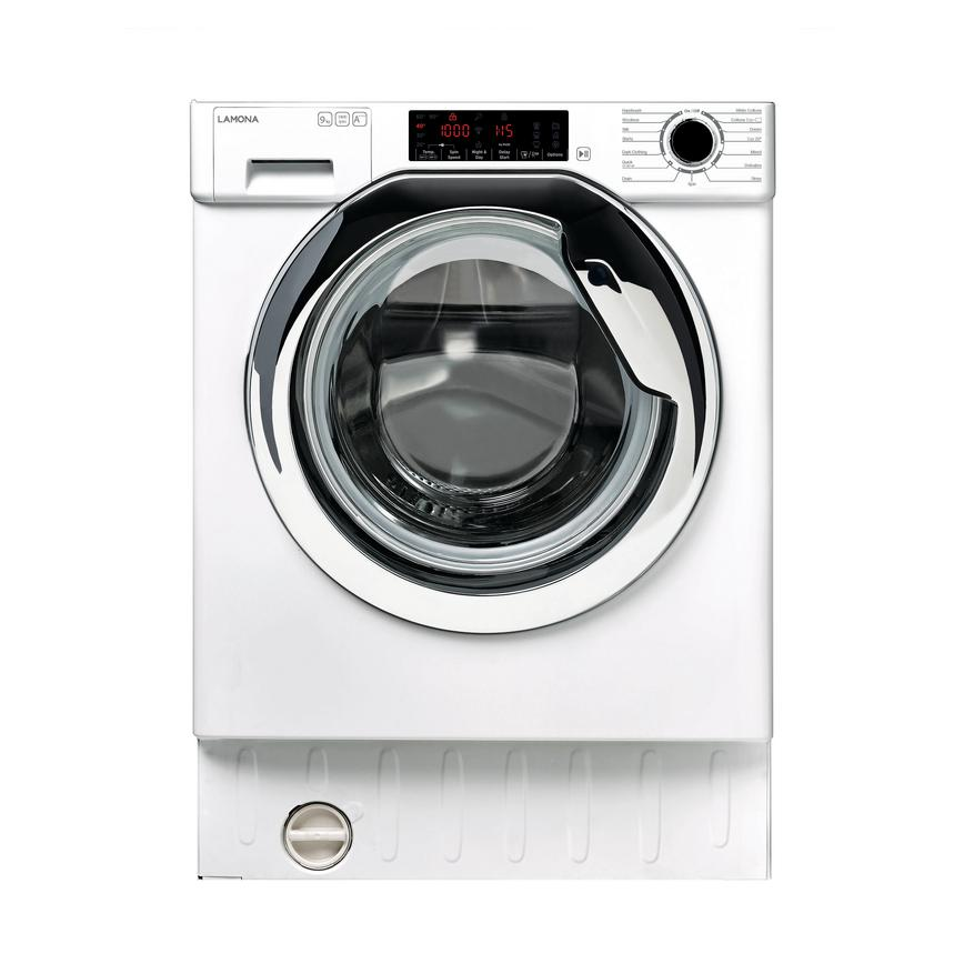 Lamona LAM8775 Built In 9Kg 1400rpm White Washing Machine