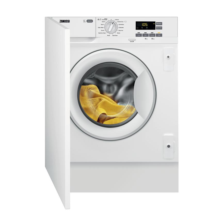 Zanussi Integrated 1200rpm Washing Machine