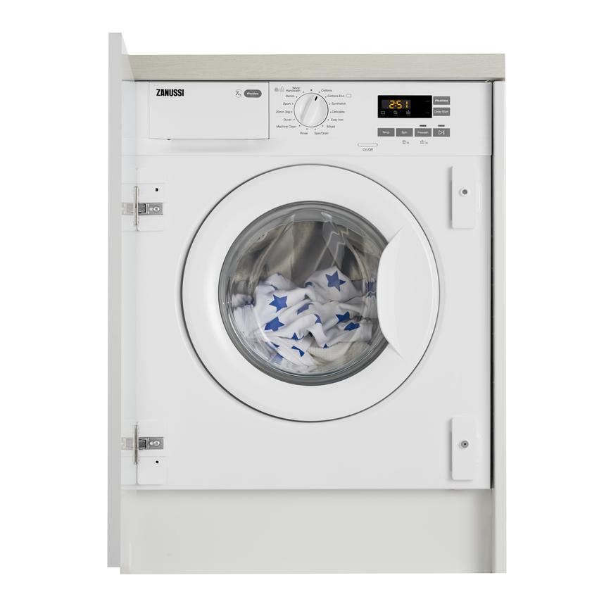 Zanussi Z714W43BI Built In 7Kg 1400rpm White Washing Machine