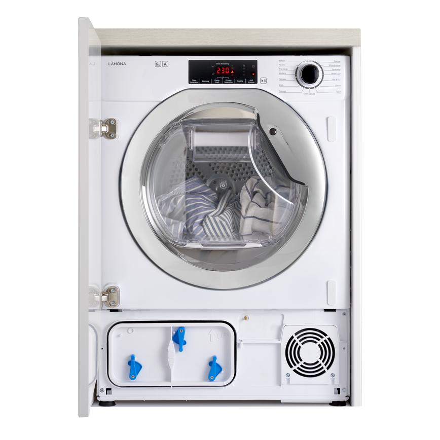 Lamona LAM8875 Integrated 6Kg White Condenser Tumble Dryer