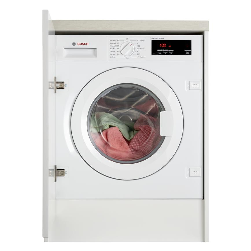Bosch WIW28300GB Integrated 8Kg 1400rpm White Washing Machine