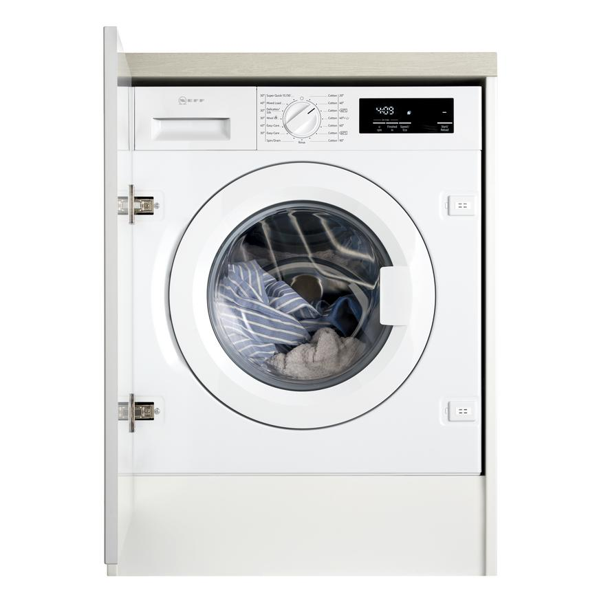 Neff W543BX0GB Integrated 8Kg 1400rpm White Washing Machine