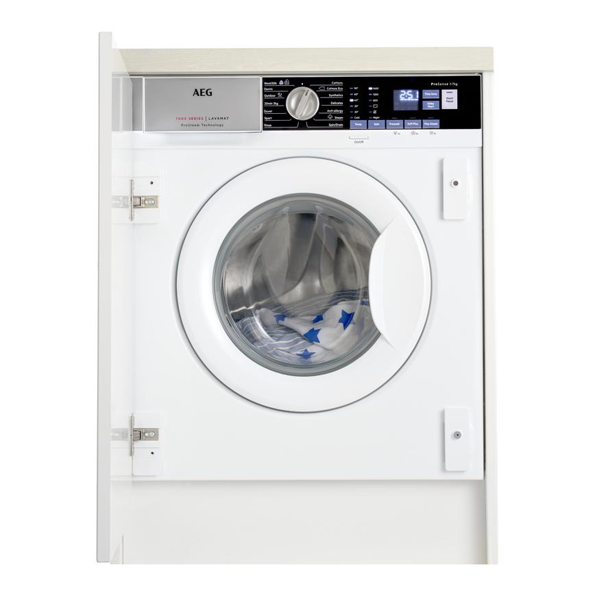 AEG L7FE7461BI Integrated 7Kg 1400rpm White Washing Machine