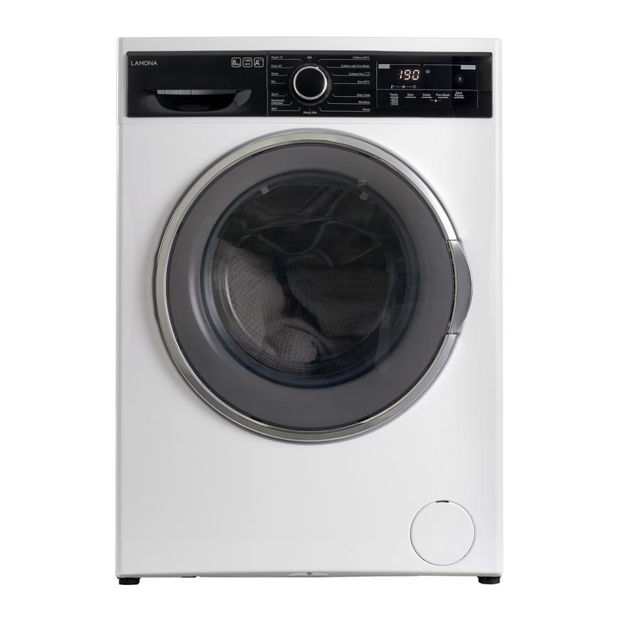 Lamona FLM8700 Freestanding 8Kg 1400rpm White Washing Machine