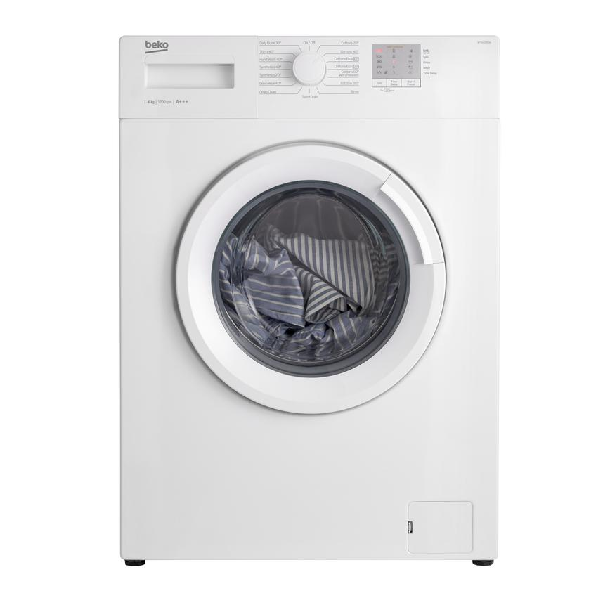 Beko WTG620M1 Freestanding 6Kg 1200rpm White Washing Machine