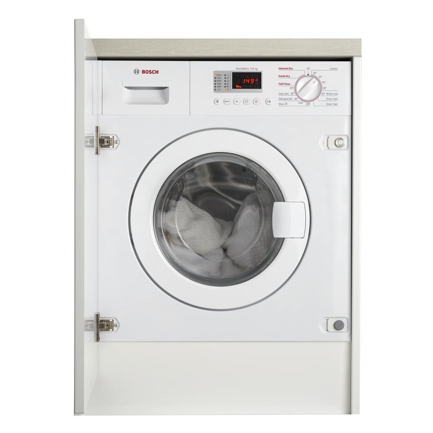 Bosch WKD28351GB Integrated 7Kg / 4Kg 1400rpm White Washer Dryer