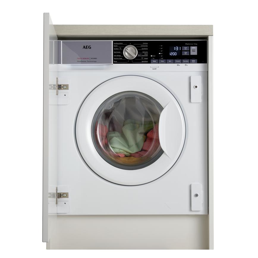 AEG L7WE7631BI Integrated 7Kg / 4Kg 1550rpm White Washer Dryer