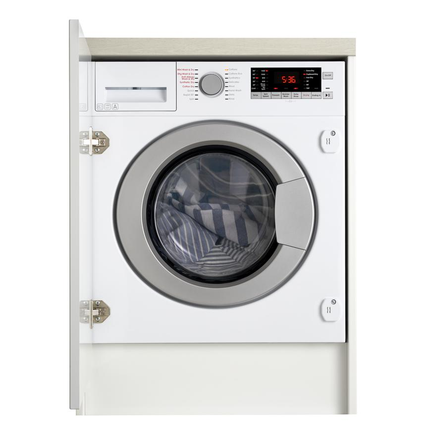 HJA8900 Integrated 8Kg / 5Kg 1400rpm White Washer Dryer