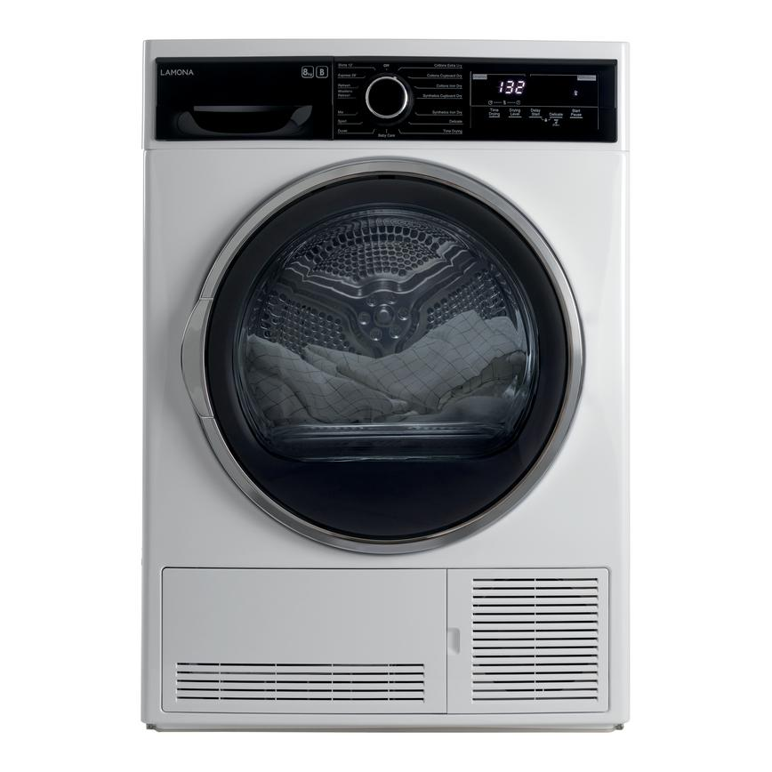 Lamona FLM8800 Freestanding 8KG White Condenser Tumble Dryer