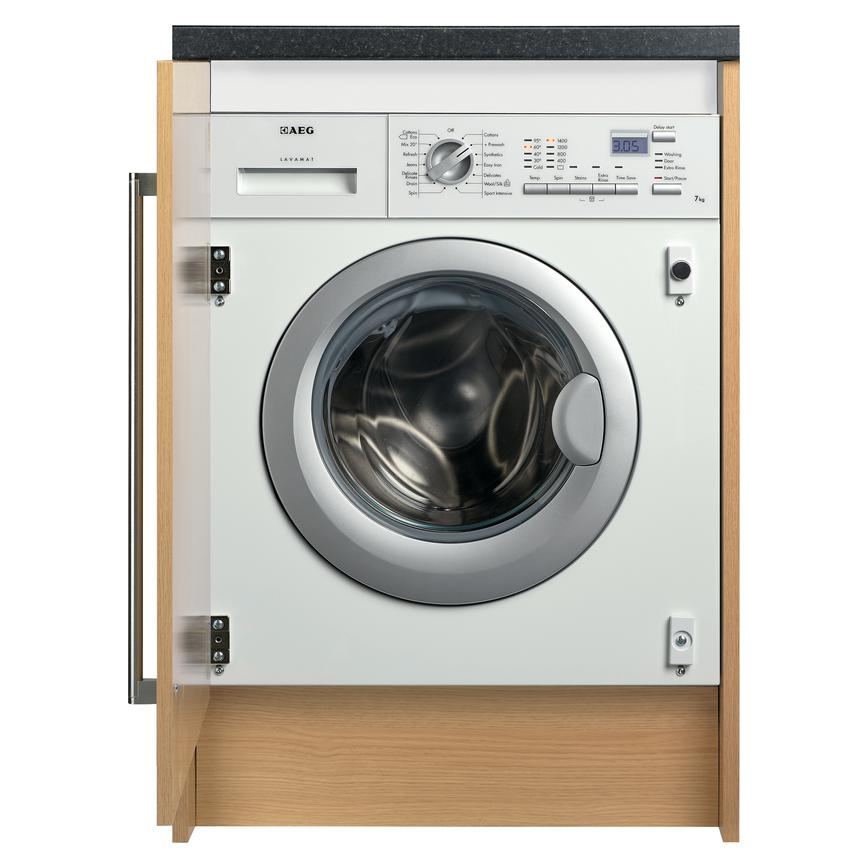 AEG BPK742320M Integrated 7Kg 1400rpm White Washing Machine