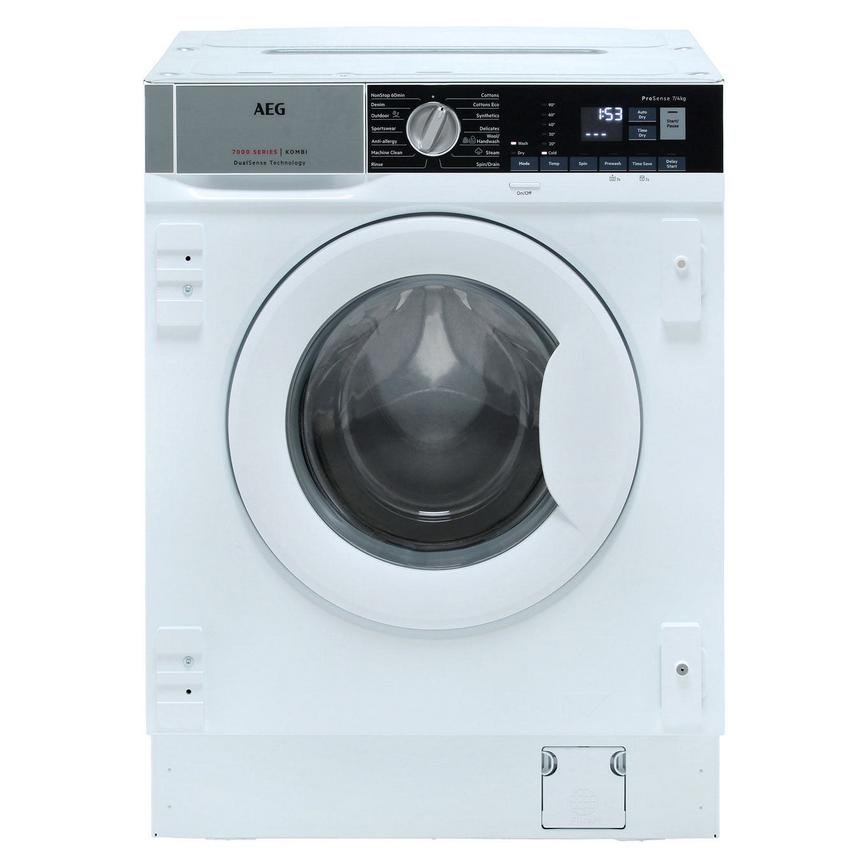 AEG L7WE7631BI Integrated 7Kg / 4Kg 1400rpm White Washer Dryer