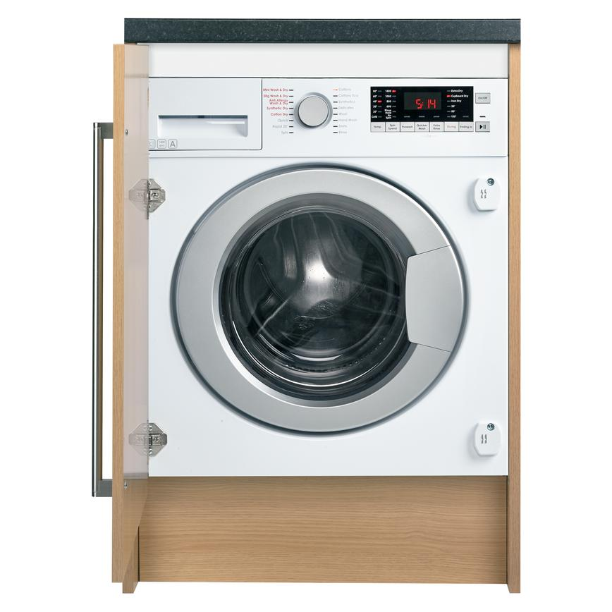 WMB51021W Integrated 8Kg / 5Kg 1400rpm White Washer Dryer