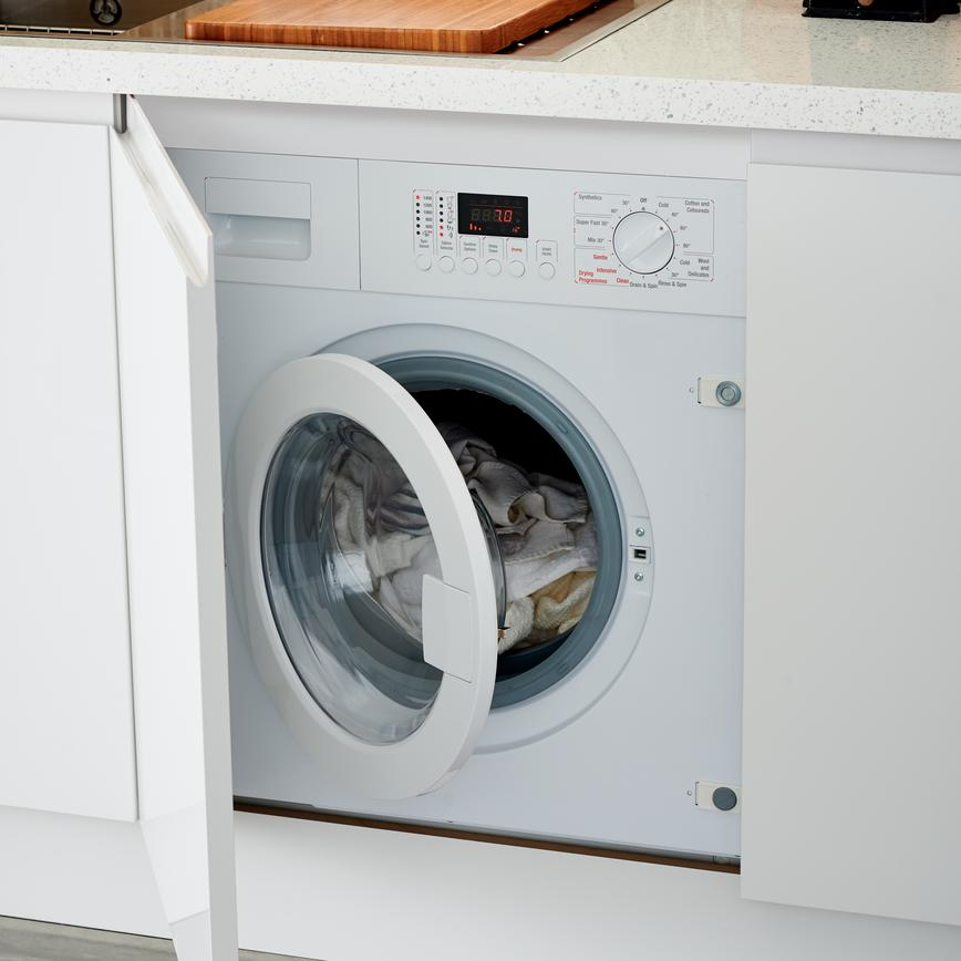 1400rpm Integrated Washer Dryer