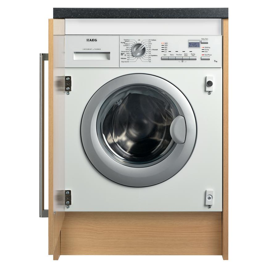 AEG L61472WDBI Integrated 7Kg / 4Kg 1400rpm White Washer Dryer