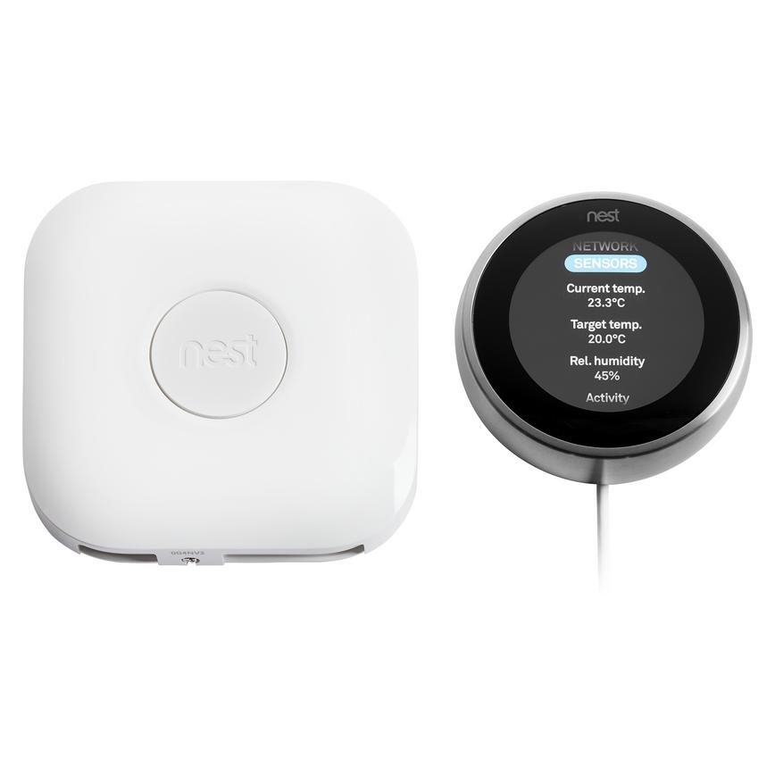 Nest Learning Thermostat – Stainless Steel