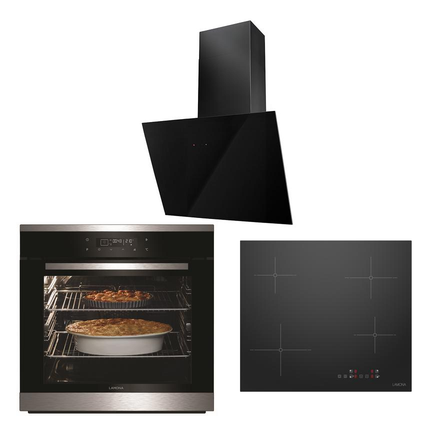 LMP9100 Oven Hob and Hood Cooking Package