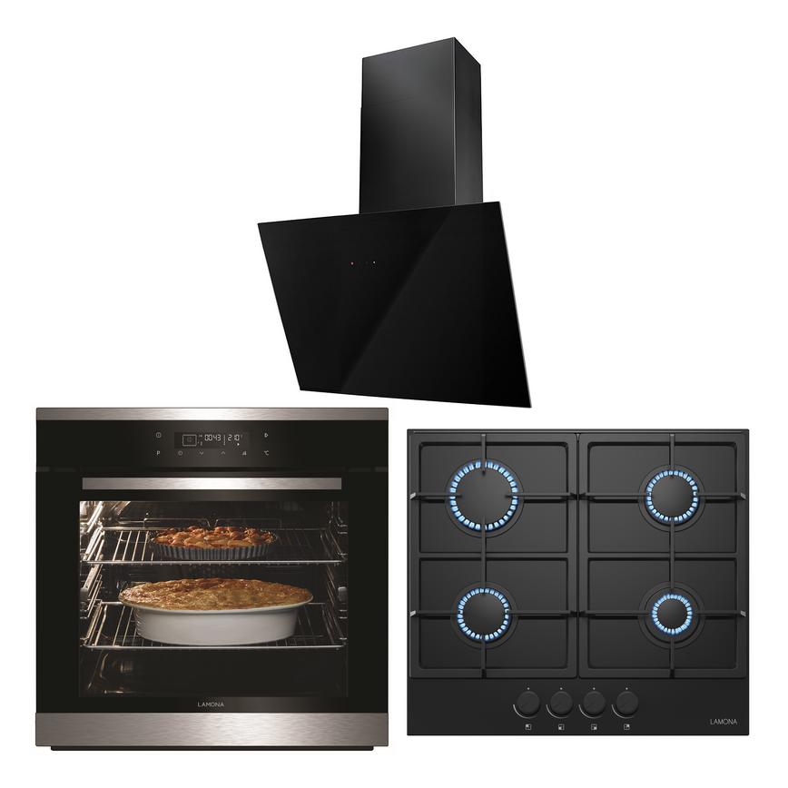LMP9101 Oven Hob and Hood Cooking Package